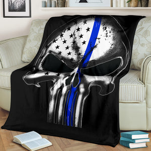 Thin Blue Line Blanket