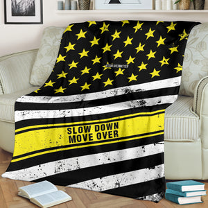 Slow Down Move Over Blanket