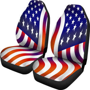 USA Flag seat covers