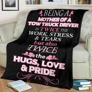 Tow Truck Driver's Mother Blanket