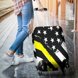 Thin Yellow Line Luggage