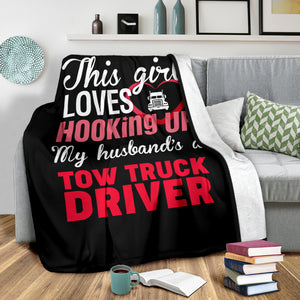 Proud Tow Operator's Girl Blanket