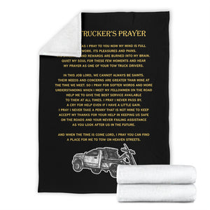 Tow Trucker's Prayer Blanket