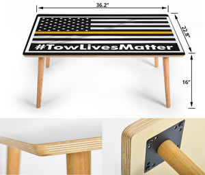 #Towlivesmatter Coffee Table