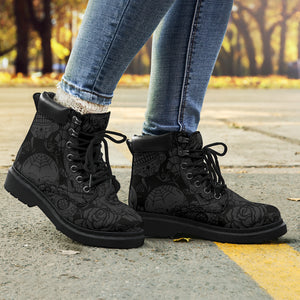 Dark Skull All-Season Boots
