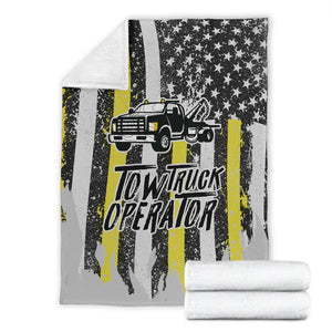 Proud Tow Truck Operator Canvas