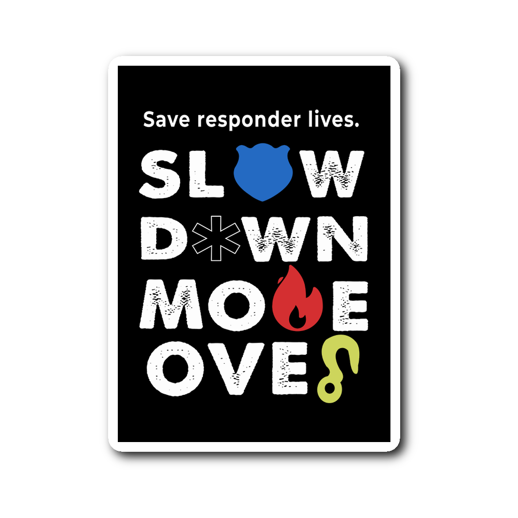 Save Responders Lives Sticker