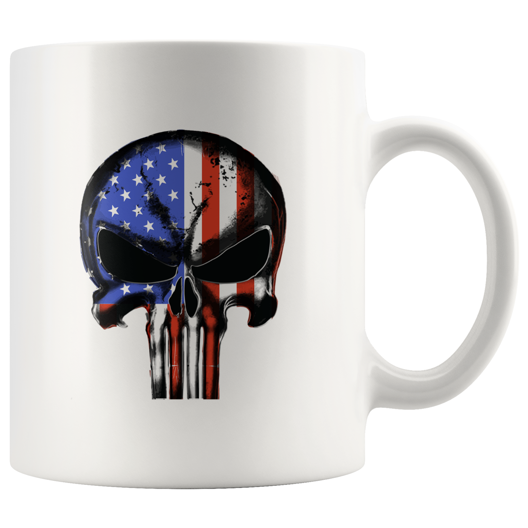 United States of America Flag Punisher Mug