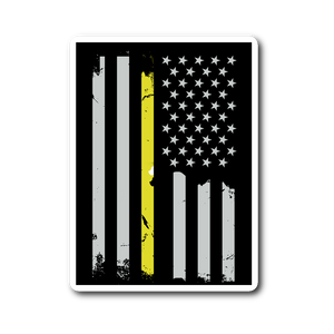 Thin Yellow Line Sticker