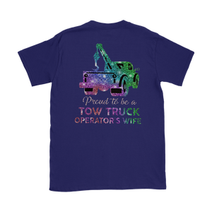 Proud To Be A Tow Truck Operator's Wife Shirt
