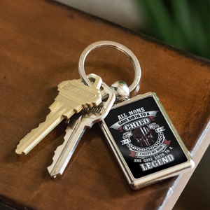 Proud Tow Mother Keychain