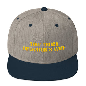 Tow Truck Operator's Wife Snapback Hat