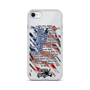 Tow Operator Prayer iPhone Case