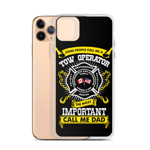 Proud Tow Dad iPhone Case