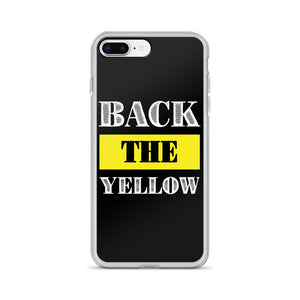Back The Yellow iPhone Case