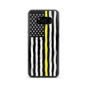 Thin Yellow Line Samsung Case