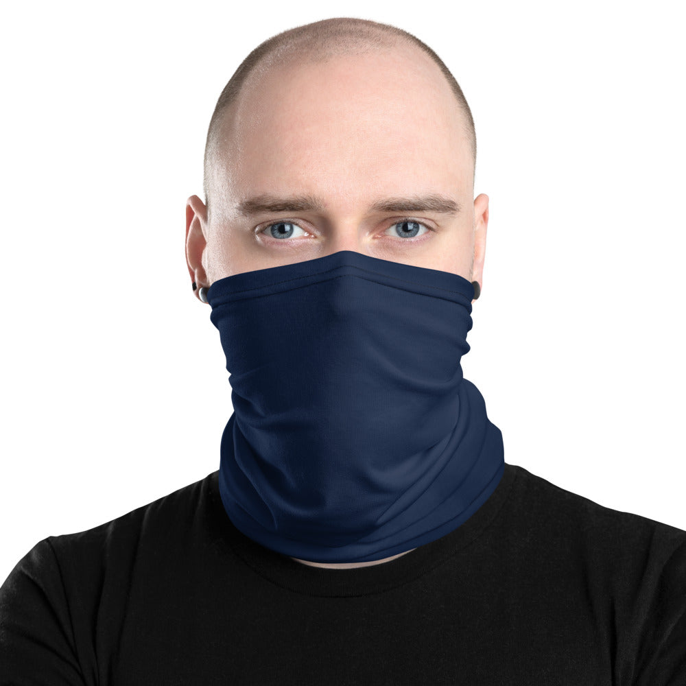 Navy Neck Gaiter - Premium Quality