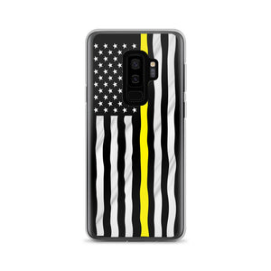 Yellow Line Samsung Case