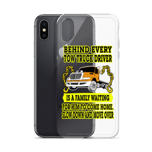 Slow Down Move Over iPhone Case