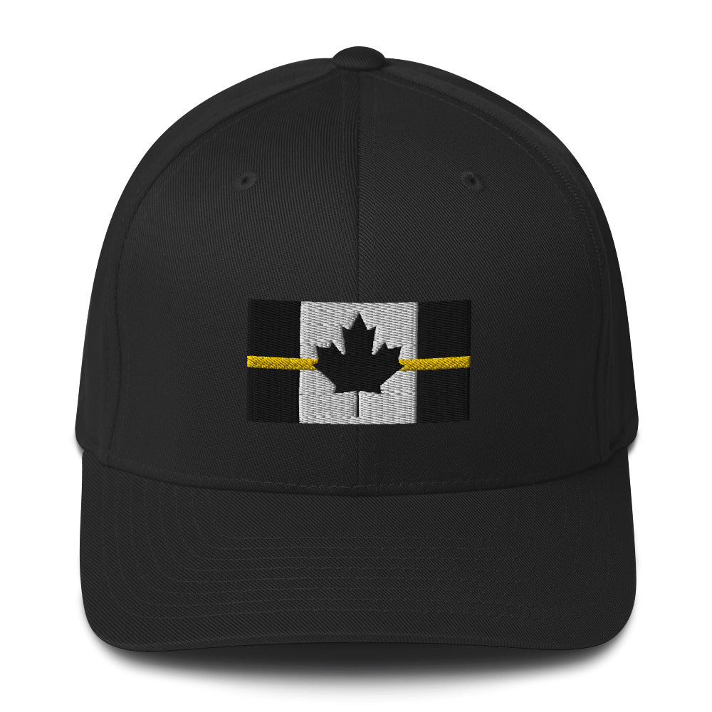 Thin Yellow Line Canadian Flexfit Hat