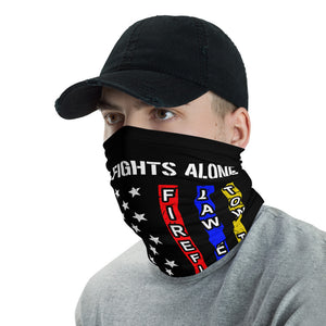 No One Fights Alone Neck Gaiter - Premium Quality