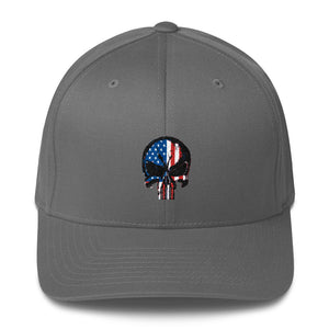 United States of America Flag Punisher Hat