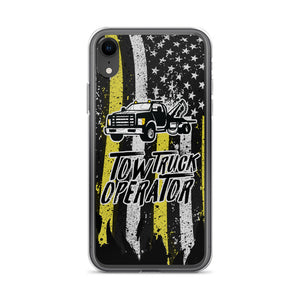 Tow Truck Operator iPhone Case