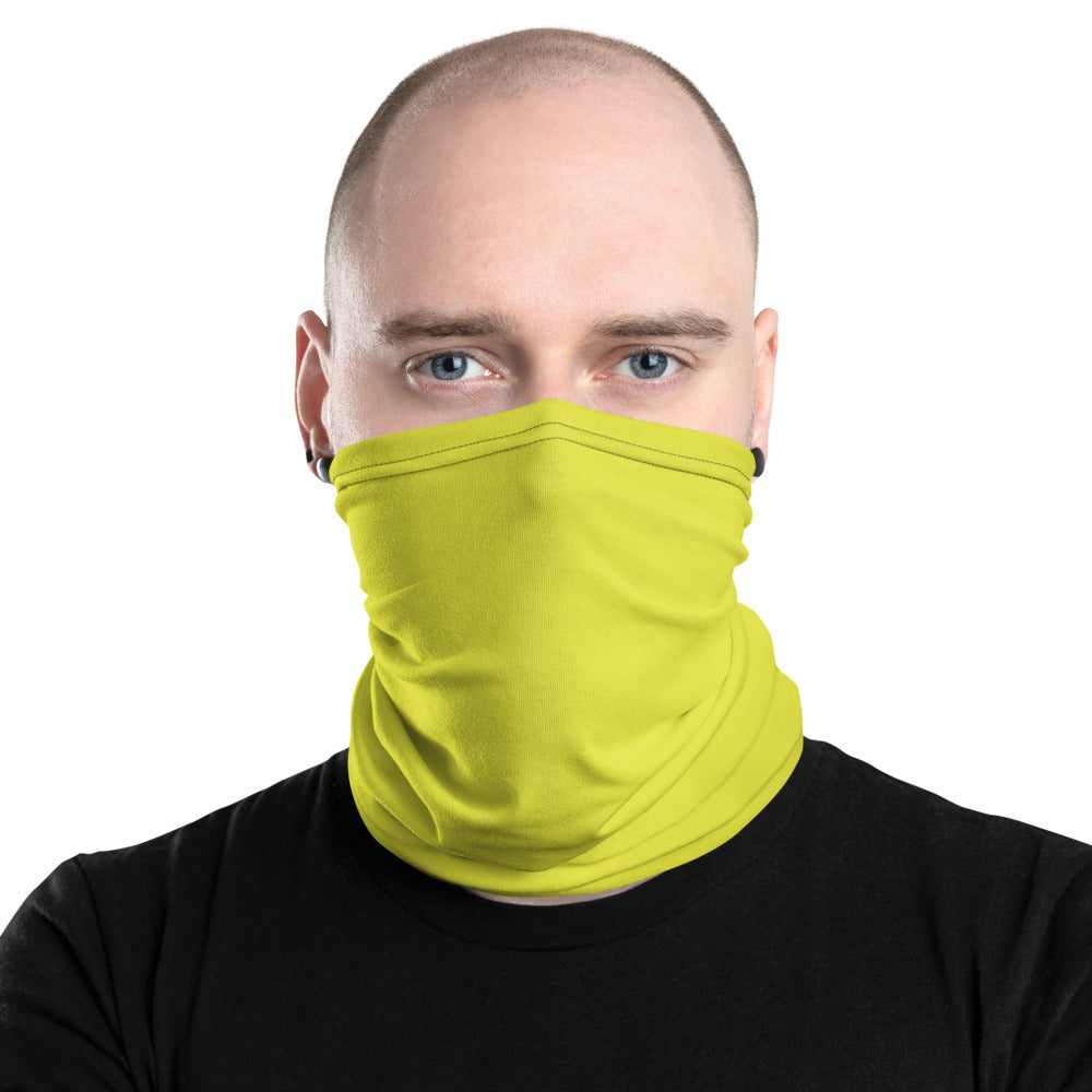 Yellow Neck Gaiter - Premium Quality