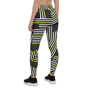 Thin Yellow Line Leggings