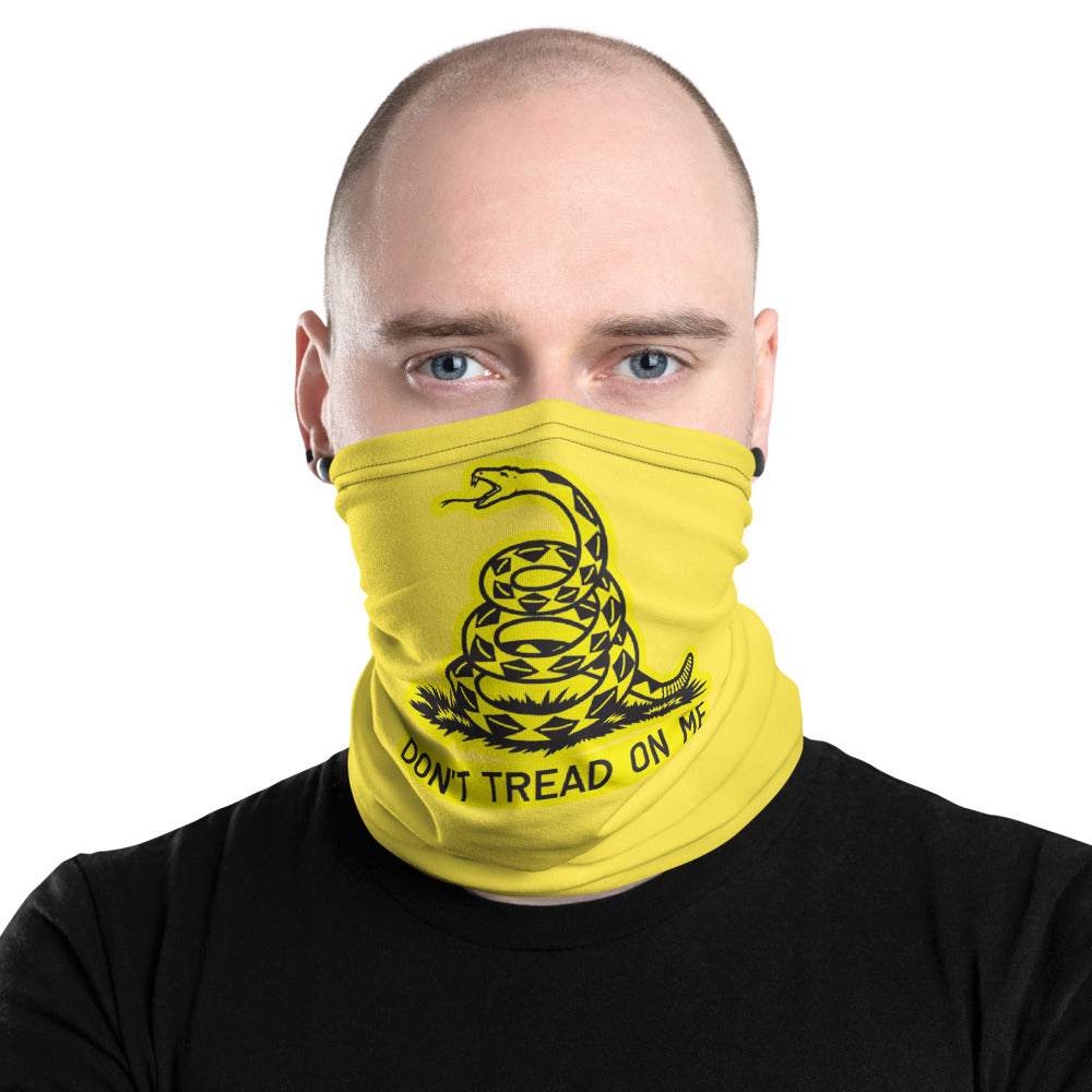 Don't tread on me Neck Gaiter - Premium Quality