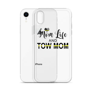 Mom Life and Tow Mom iPhone Case