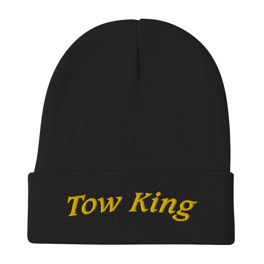 Tow King Embroidered Beanie