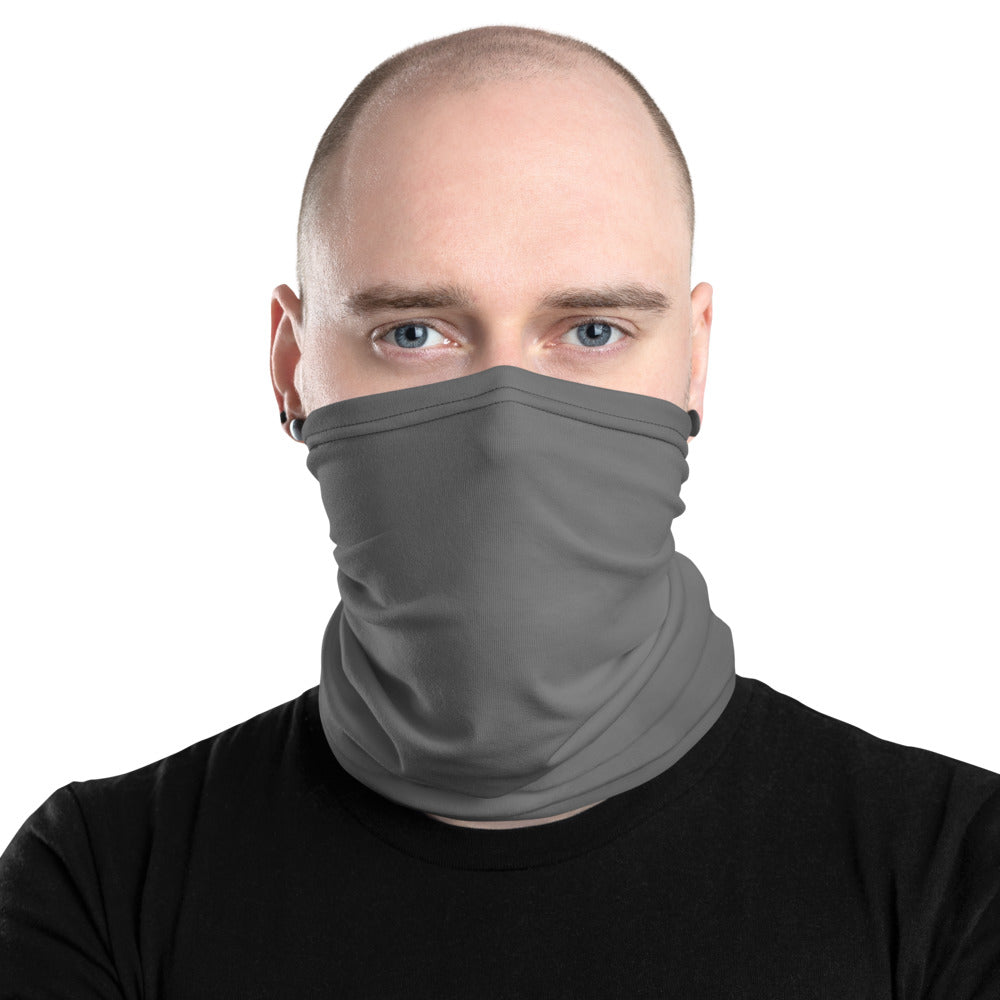 Dark Gray Neck Gaiter - Premium Quality
