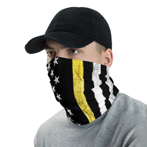 Thin Yellow Line Neck Gaiter - Premium Quality