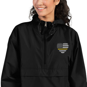 Thin Yellow Line Embroidered Jacket