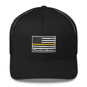 Tow Lives Matter Flag Hat (Trucker Cap)
