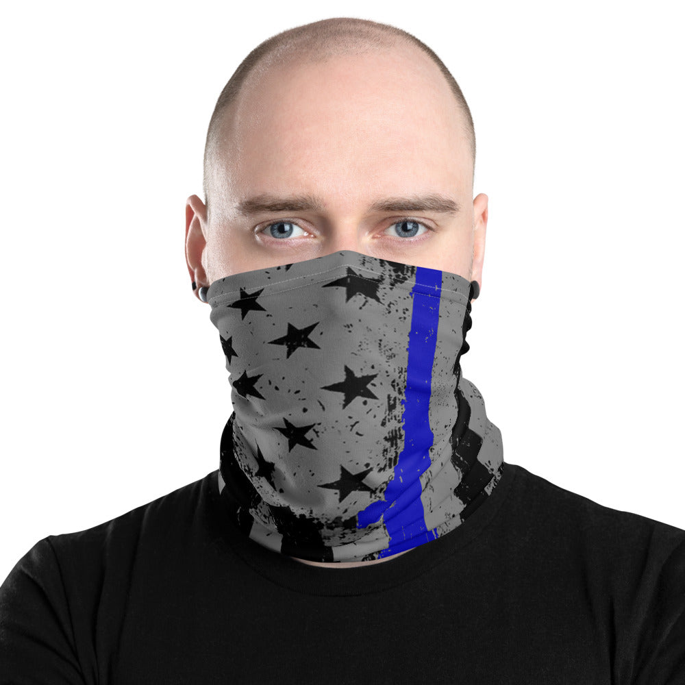Thin Blue Line Neck Gaiter - Premium Quality