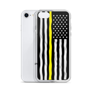 Yellow Line iPhone Case