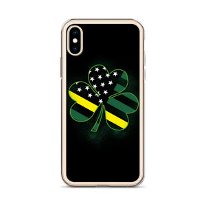 Thin Yellow Line iPhone Case