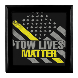 Tow Lives Matter Jewelry Box