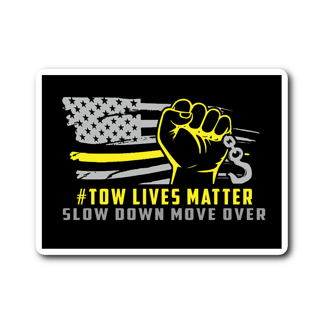 #Towlivesmatter Sticker