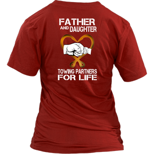 Father and Daughter Towing Shirt