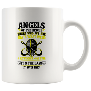 Angels Of The Rescue - Tow Truck Operator Mug