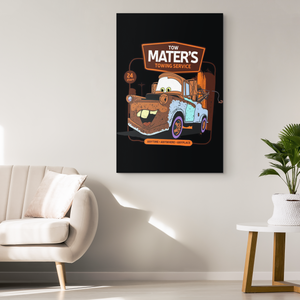 Tow Mater's Canvas Print