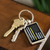 Thin Yellow Line Keychain