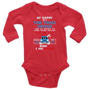 My Daddy Is A Tow Truck Driver Onesie