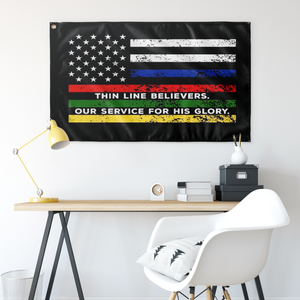 Thin Line Believers Flag