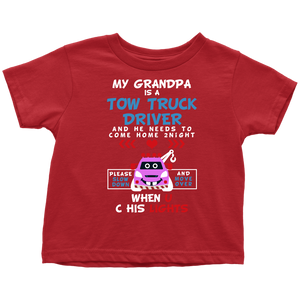 My Grandpa Is A Tow Truck Operator