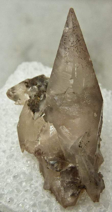 COPPER in CALCITE Thumbnail - Miniature Crystal Raw Stone Home Decor Gift 3502-Throwin Stones