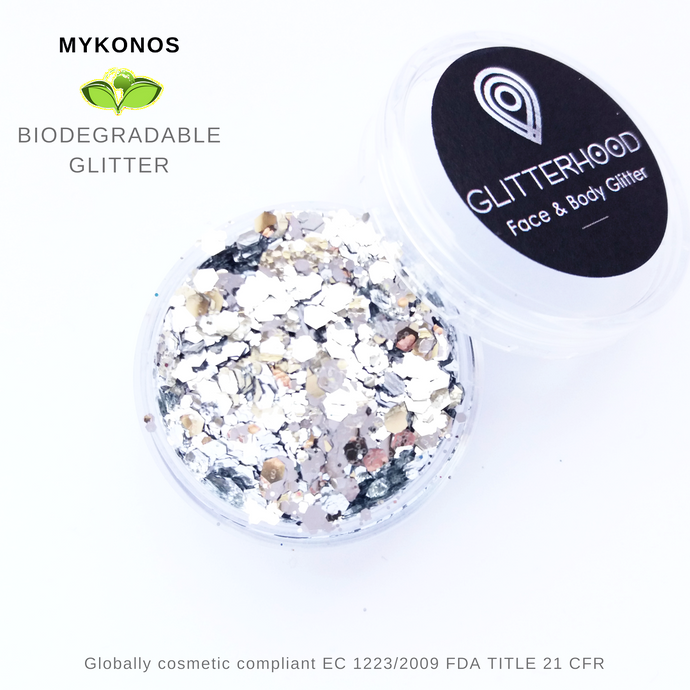 MYKONOS - BIO GLITTER by Glitterhood.com